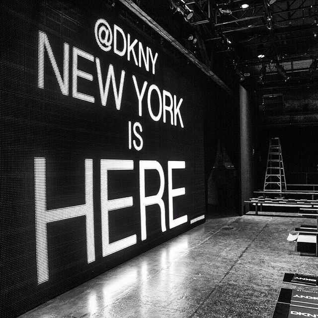 Nowy Jork jest tutaj!/Instagram: @dkny