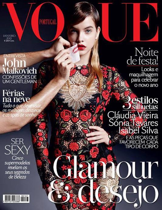 Okładka  Vogue Portugal  autorstwa Piotra Krzymowskiego