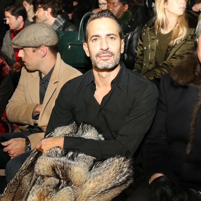Marc Jacobs na swoim pokazie kolekcji ready-to-wear/Instagram: @maximsap