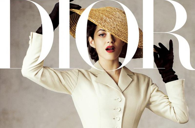 Słynna marynarka The Bar na okładce Dior Magazine
