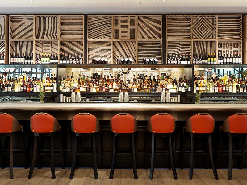 Bar w hotelu Ham Yard/mat.prasowe Ham Yard Hotel