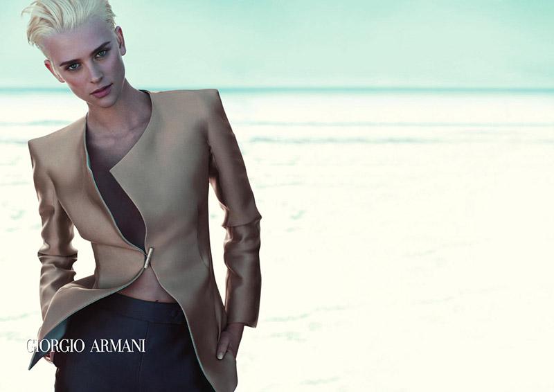 Kampania reklamowa Giorgio Armani wiosna-lato 2012