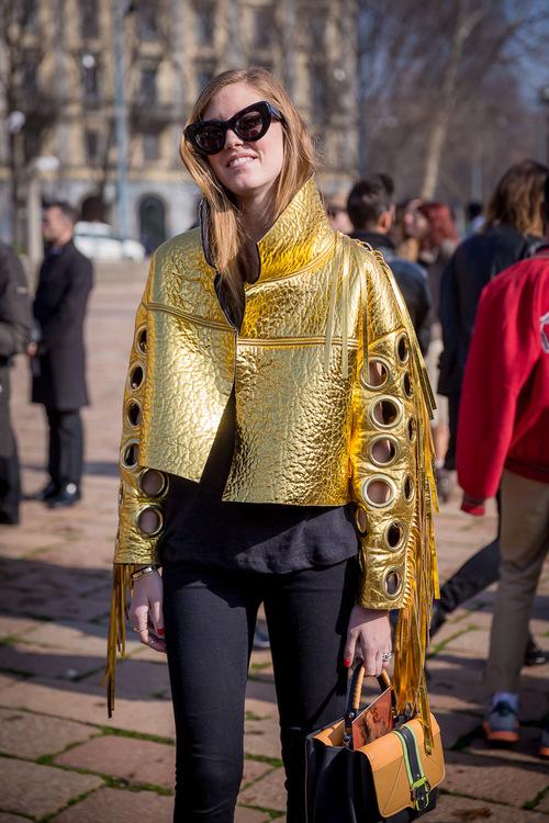Chiara Ferragni, autorka bloga The Blonde Salad, projektantka butów i biżuterii/fot. Marco Antinori dla DYKF