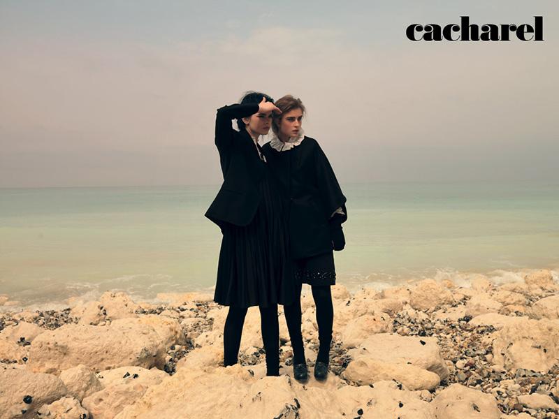 Kampania kolekcji prêt-à-porter marki Cacharel na sezon jesień/zima 2015