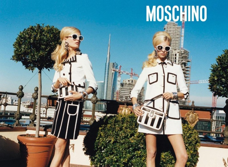 Kampania kolekcji prêt-à-porter marki Moschino na sezon wiosna/lato 2013