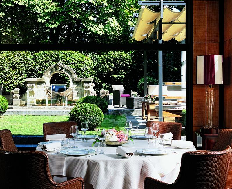 Restauracja w hotelu Principe di Savoia/mat.prasowe Principe di Savoia Hotel