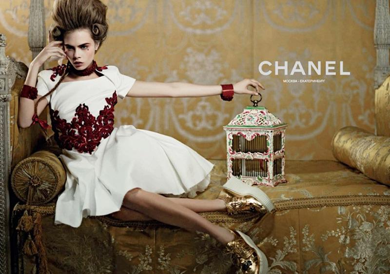 Kampania Chanel Cruise 2013