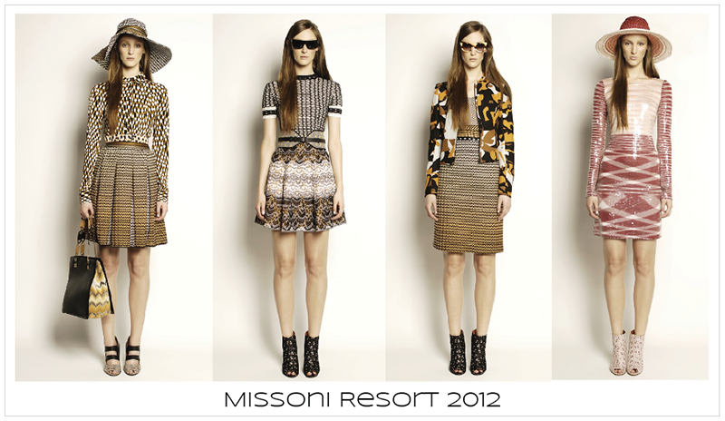 Kampania Missoni Resort 2012