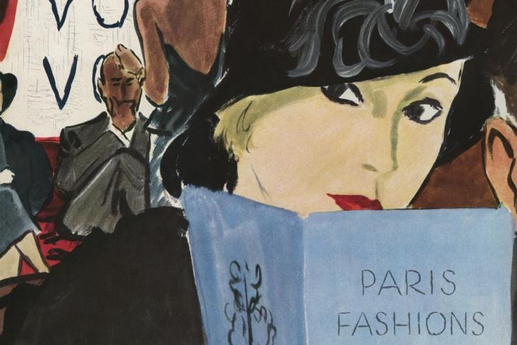 Okładka Vogue z października 1932 roku
