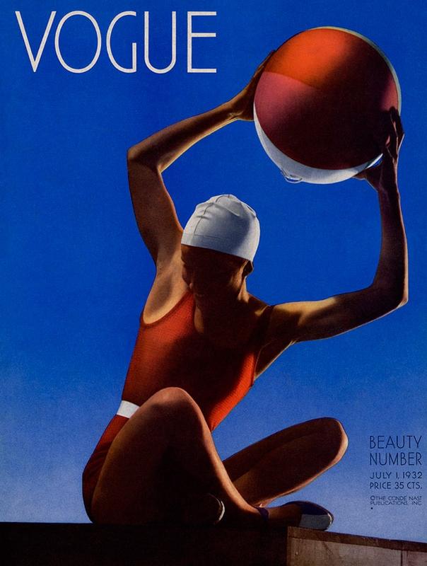 Okładka Vogue z lipca 1932 roku