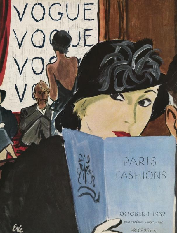 Okładka Vogue z października 1932 roku/