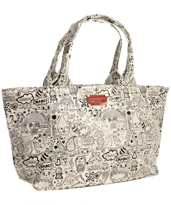 Torba Marc by Marc Jacobs w doodle-prints