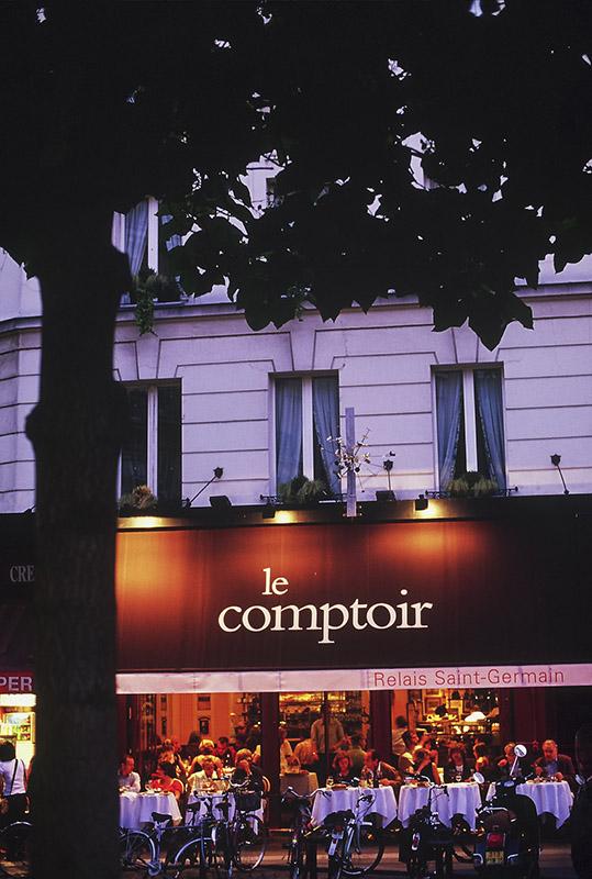 Restauracja Le Comptoir du Relais/mat.prasowe Le Comptoir du Relais