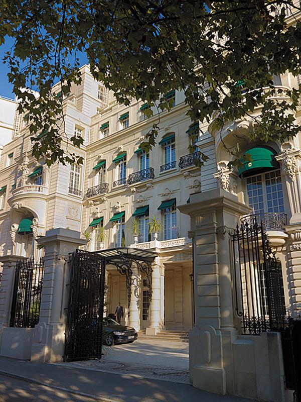 Wejście do hotelu The Shangri-la/mat.prasowe The Shangri-la