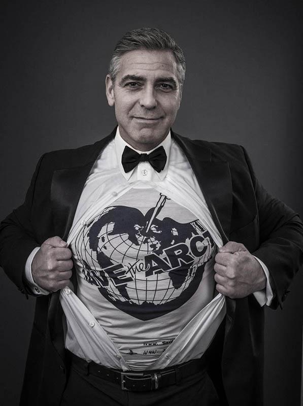 George Clooney w kampanii na rzecz Arktyki