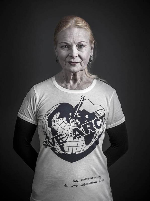 Vivienne Westwood w kampanii na rzecz Arktyki