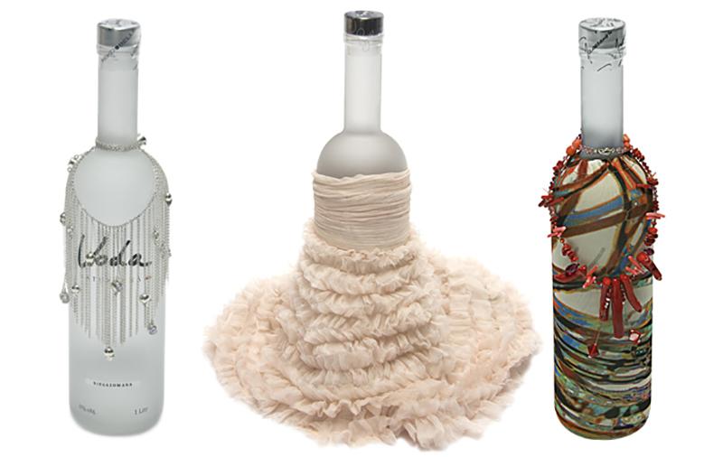 Butelki projektu (od lewej): Mokobelle, Bizuu i Natalii Jaroszewskiej