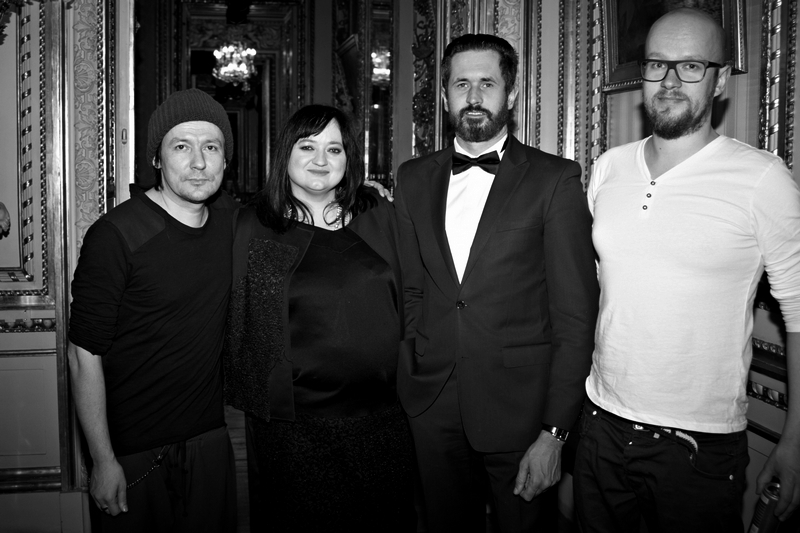 Andrzej Smolik, Gosia Baczyńska, Michał Pietruczuk, Jakub Staruszkiewicz/fot. Marek Mulenko