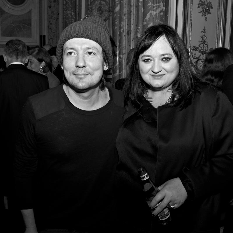 Andrzej Smolik i Gosia Baczyńska/fot. Marek Mulenko