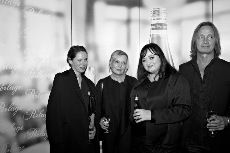 Alicia Yates, szefowa Celine (Ameryka Północna i Południowa), Katarzyna Kuśmierz, Gosia Baczyńska i Robert Jurgawka/fot. Marek Mulenko