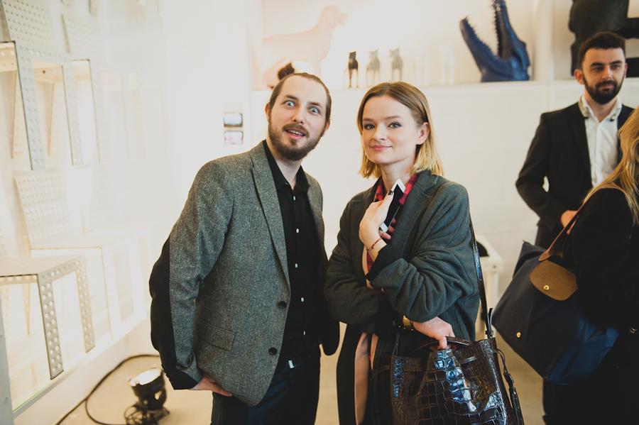 Łukasz Laskowski, PR & brand manager Zuo Corp. i Ewa Kamionowski