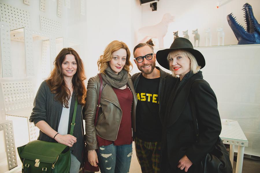 Kinga Sistermann, Ewa Wojciechowska, Dariusz Zieliński i Anna Puślecka/fot. Artur Cieślakowski dla DYKF.pl