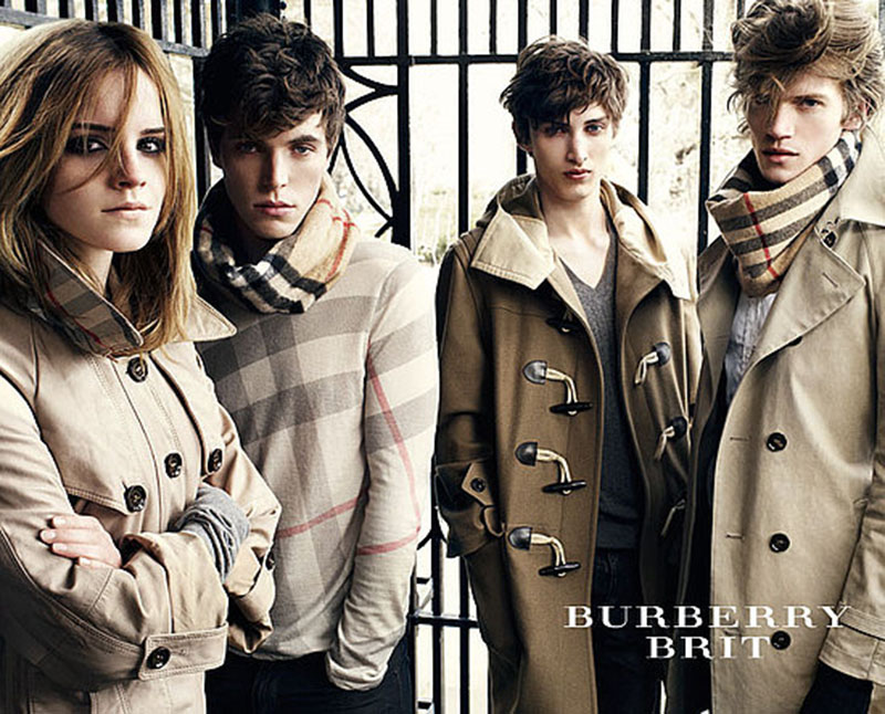 Kampania marki Burberry na sezon jesień/zima 2009