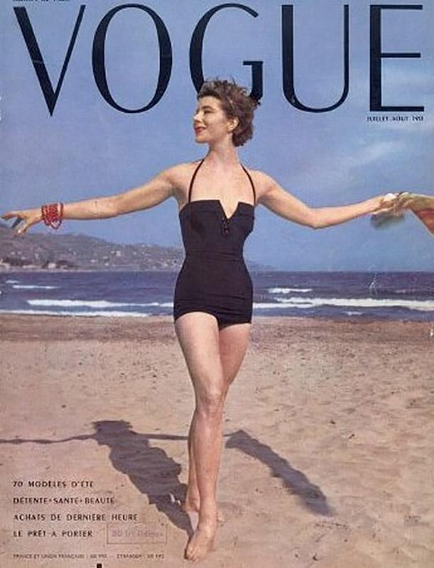 Bettina na okładce francuskiego Vogue'a