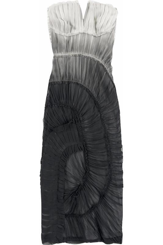 Sukienka ombre projektu Alberty Ferretti