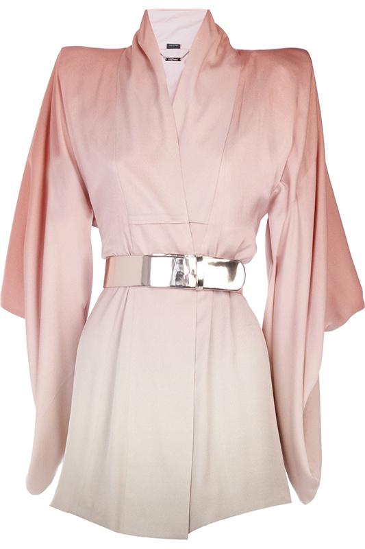 Kimono ombre projektu Alexandra McQueena