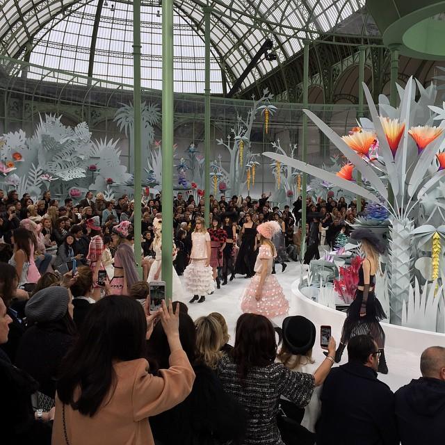 Pokaz Chanel haute couture na sezon wiosna/lato 2015