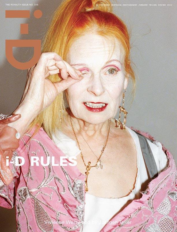 Vivienne Westwood na okładce I-D Magazine