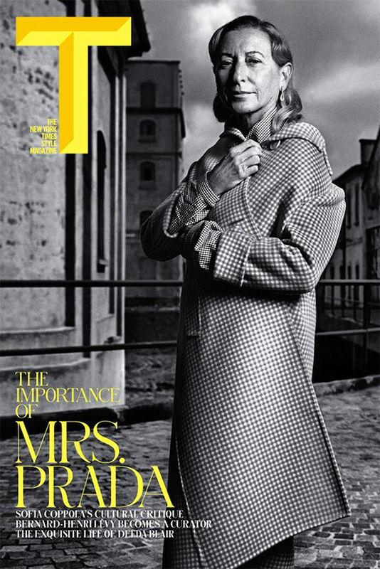 Miuccia Prada na okładce The New York Times Style Magazine