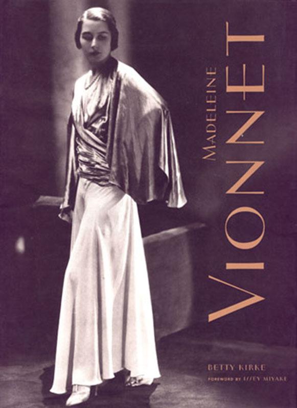 Okładka biografii Madeleine Vionnet autorstwa Betty Kirke