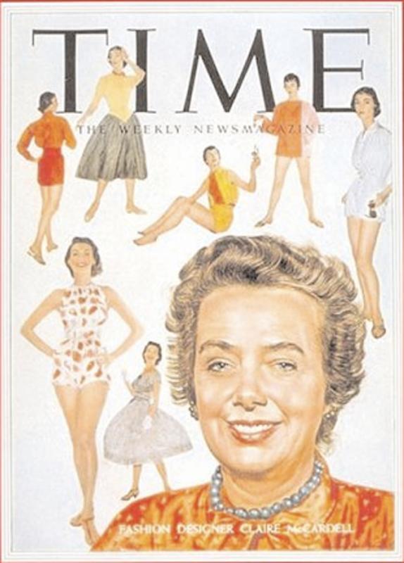 Claire McCardel na okładce magazynu Time