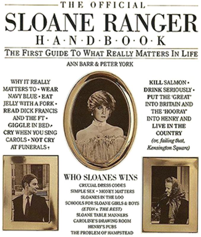"Okładka książki ""The Sloane Ranger Handbook"""