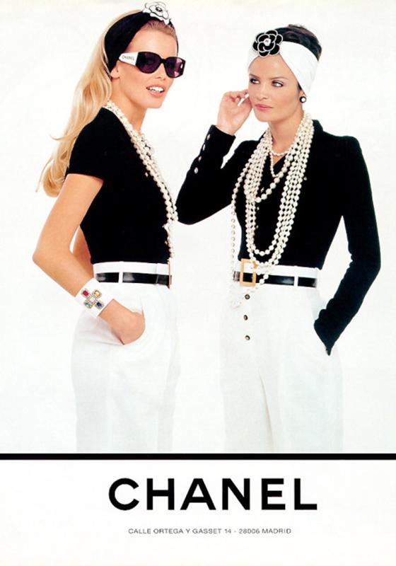 Kampania marki Chanel w stylu BCBG