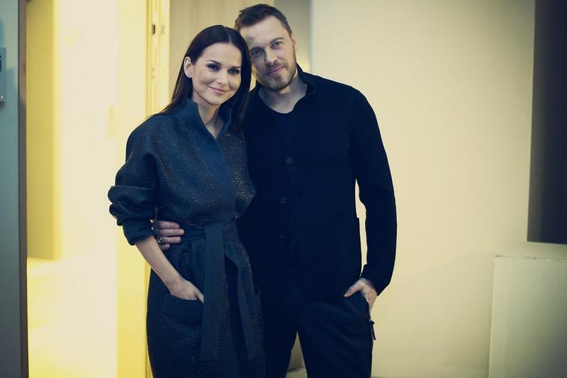 Paulina Sykut z mężem/fot. Agnieszka Taukert dla DYKF