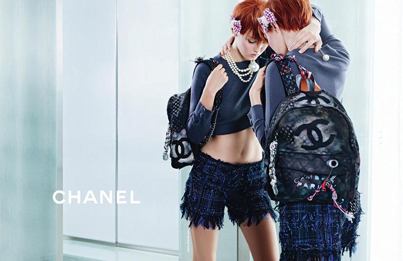 Kampania marki Chanel na sezon wiosna/lato 2014