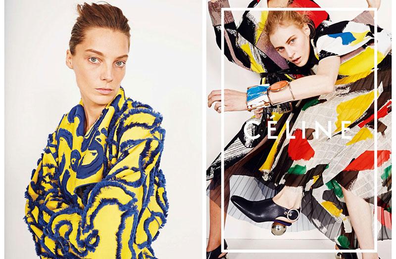 Kampania marki Celine na sezon wiosna/lato 2014