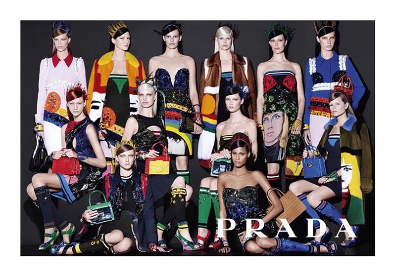 Kampania marki Prada na sezon wiosna/lato 2014