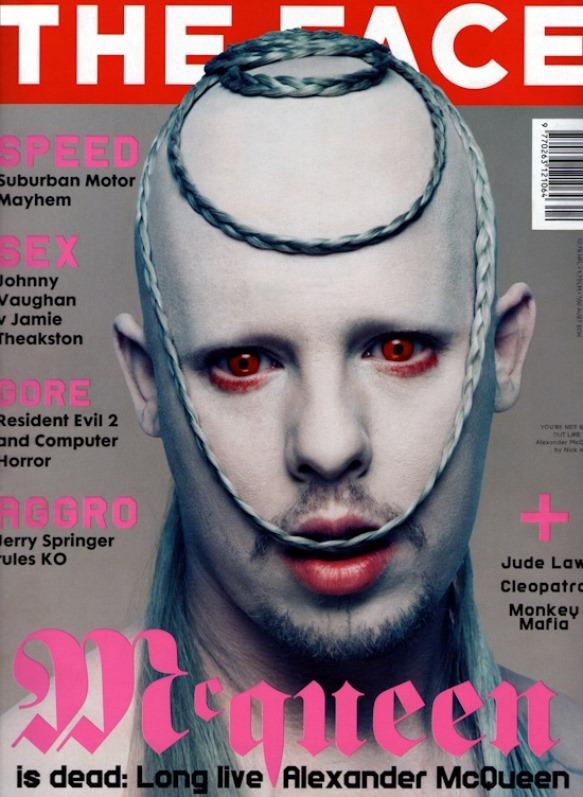 Alexander McQueen na okładce The Face