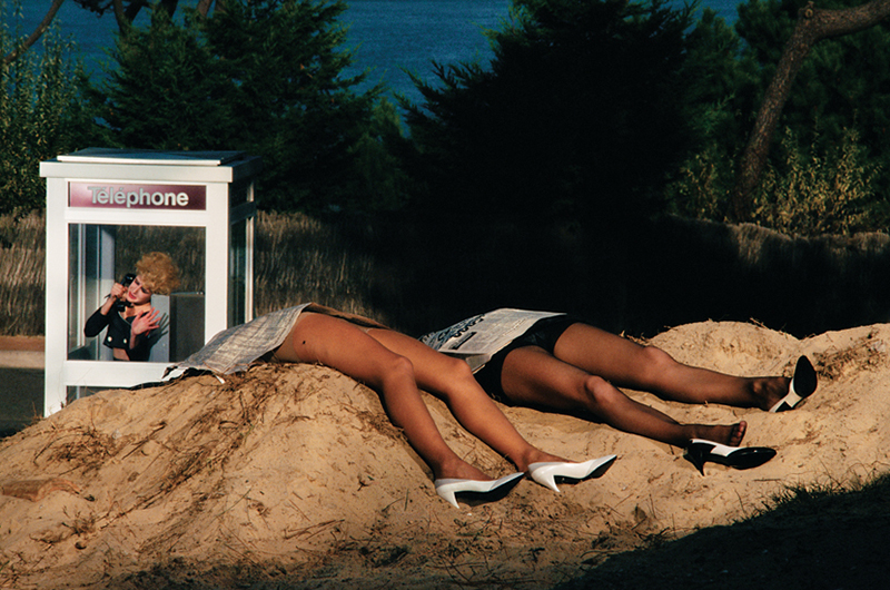 Guy Bourdin dla Charles Jourdan