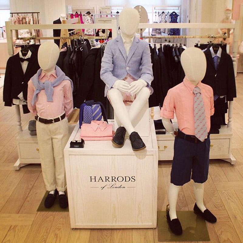 Wnętrze domu towarowego Harrods/Instagram:@Harrods