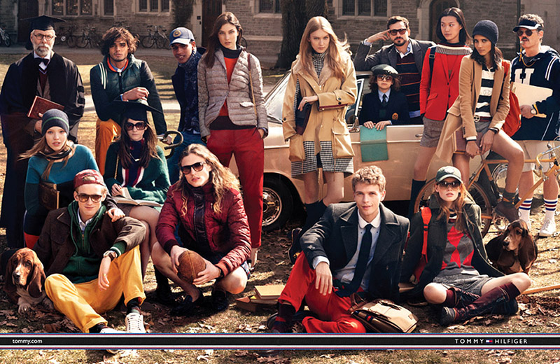Kampania marki Tommy Hilfiger na jesień 2011 roku