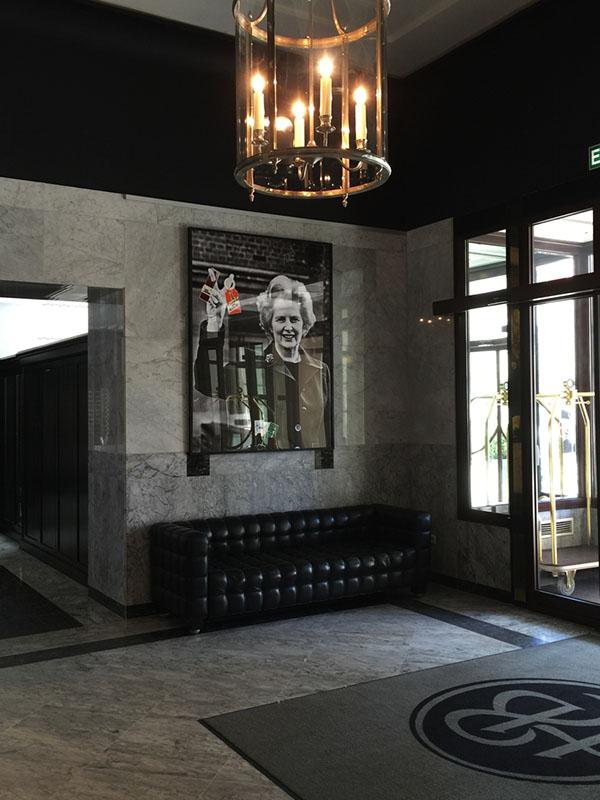 Margaret Thatcher/fot. materiały prasowe Piotr Krzymowski