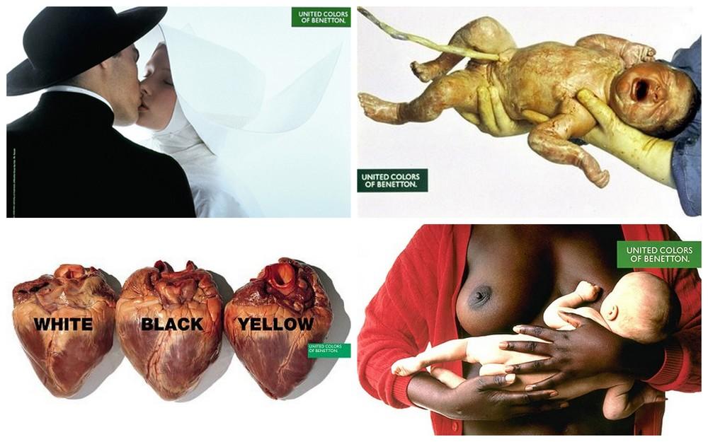 Kampania Benetton/fot. Oliviero Toscani