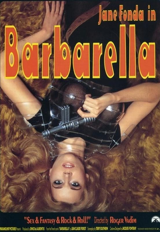 Plakat filmu Barbarella