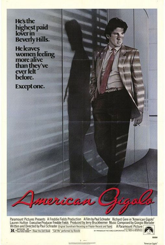Plakat do filmu Amerykański Żigolak