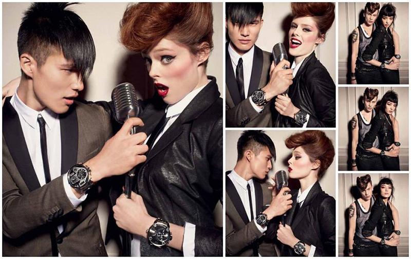 Kampania marki Diesel na sezon jesień/zima 2012 inspirowana stylem rockabilly